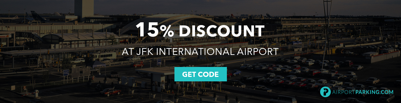 15% Discount at JFK International Airport
