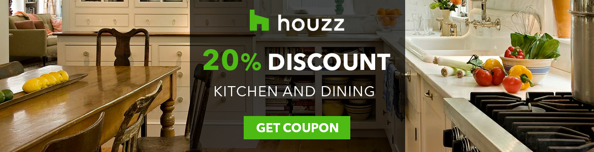 Houzz up to 20% off on Kitchen & Dining