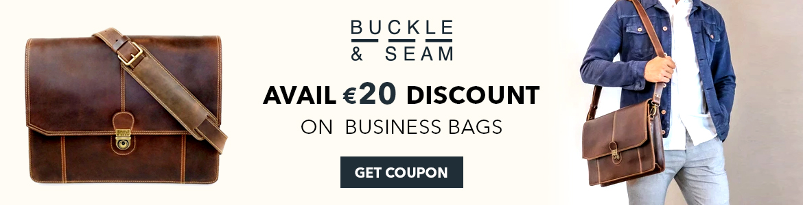 Avail 20 Off On Business Bags at Buckle & Seam. Shop Now