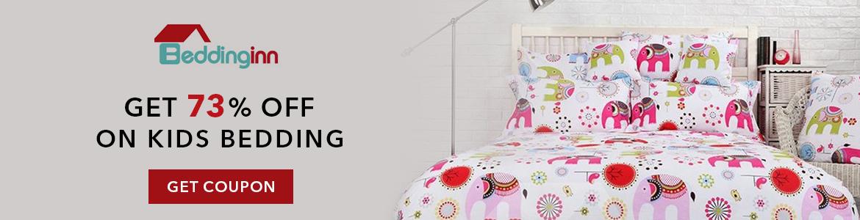 Get 73% OFF on Kids-Kids Bedding. Buy Now
