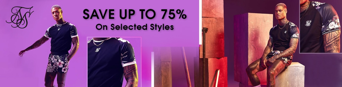 SALE! Save Up to 75% OFF On Selected Styles