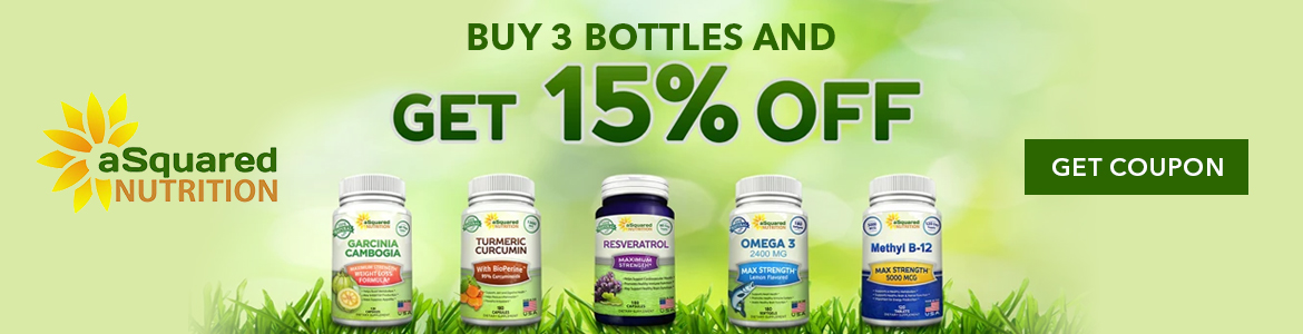 Buy 3 Bottles and Get 15% Off! Shop Now